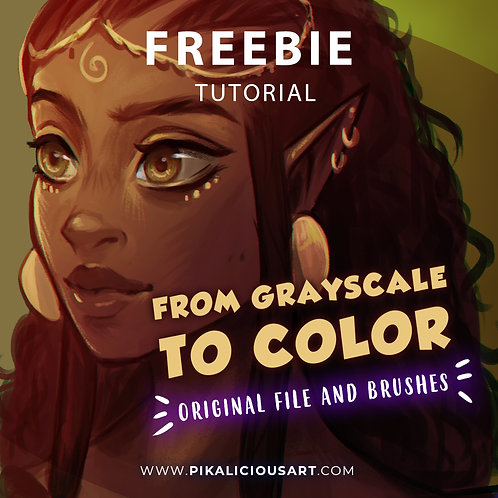 """Freebie - Tutorial """"From Grayscale to Color"""""""