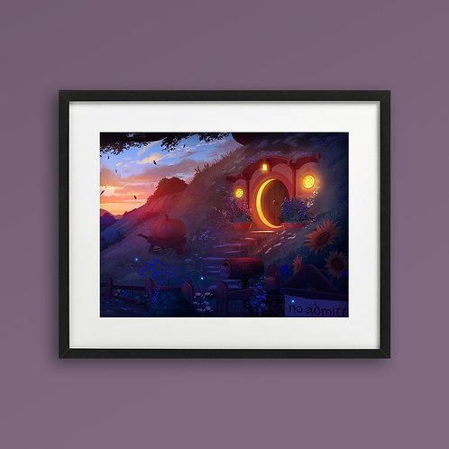 Print - Hobbiton at Dawn