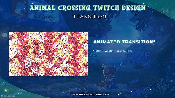 Animal Crossing Twitch Design - Transition