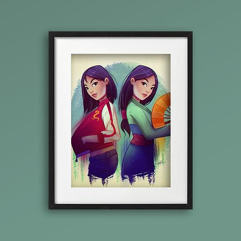 Print - Mulan