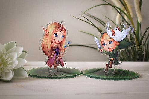 Standee - Princess Zelda or Link