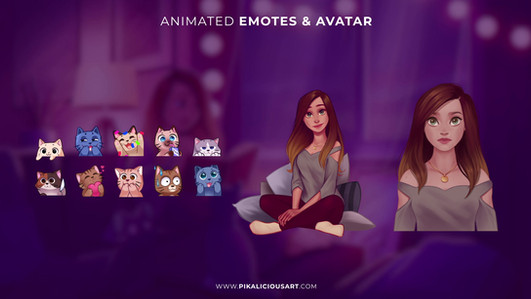 Animation_Niisa_Preview_Emotes & Avatar.
