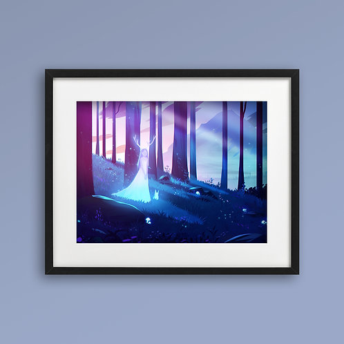 Print - Fairy Forest