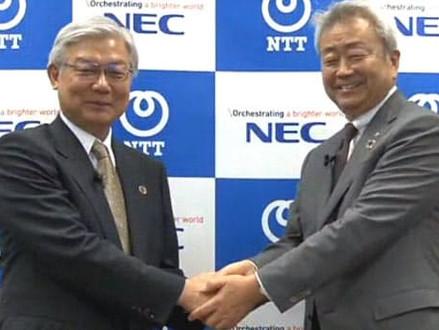 NTT・NEC 対ファーウェイ