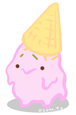 Sad Ice Cream Boi
