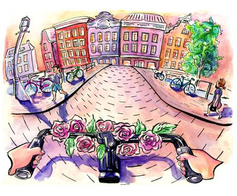 """""""Me, My Bike, and Amsterdam"""""""