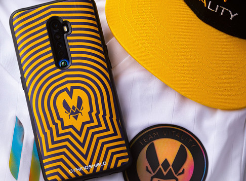 Mobile accessories brand RhinoShield partners with esports outfit Team Vitality