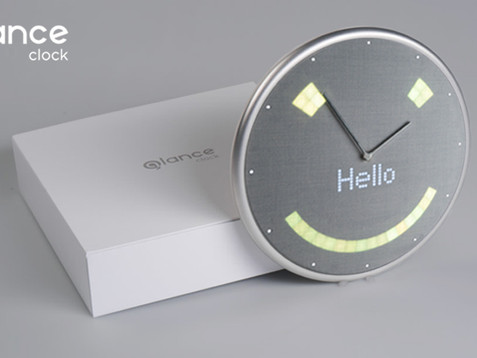 Glance Clock meets Indiegogo $50K Goal in 1 Hour, collecting more than $400K