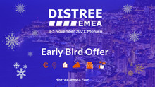 Exhibitor benefits package launched  to celebrate new DISTREE EMEA 2021 event dates