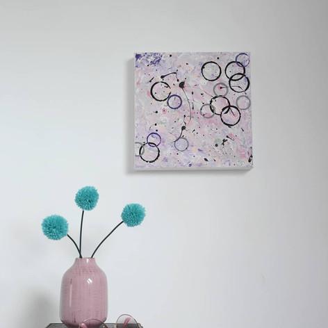 Circles abstract, 2019