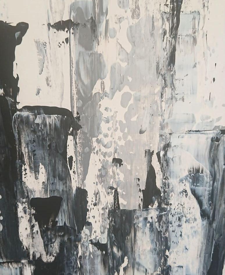 Monochrome city scape detail, 2018