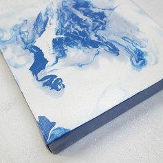 Acrylic flow - liquid abstract, 2019