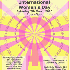 IWD event poster, 2020
