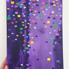 Purple confetti, 2018