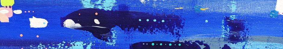 Blue layered, 2018