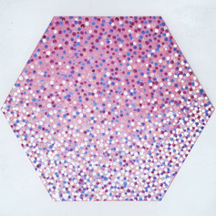 Filling a canvas with dots, 2019