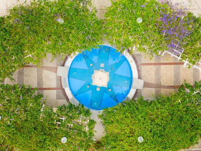 Improvements have been made to the water fountain in downtown Winter Garden's Centennial Plaza.