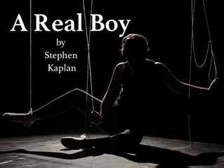 "Playground Workshop: ""A Real Boy"" March 16th"