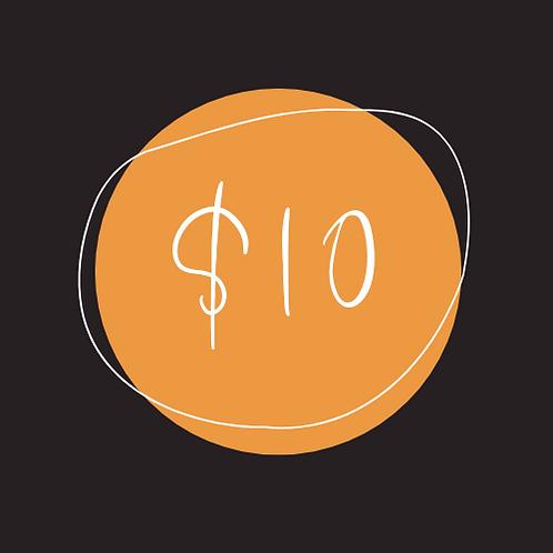$10 Chamber Bucks