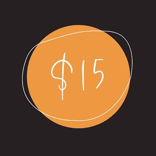 $15 Chamber Bucks
