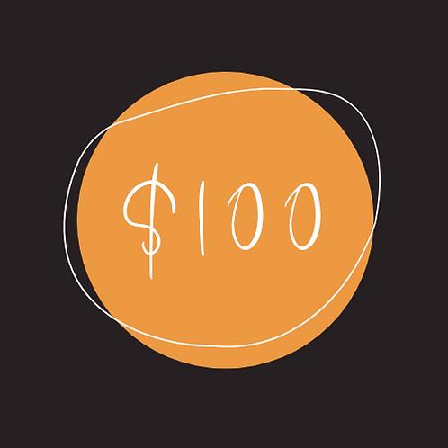 $100 Chamber Bucks