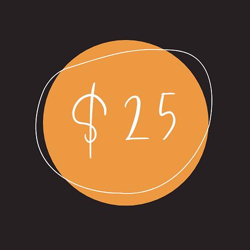 $25 Chamber Bucks