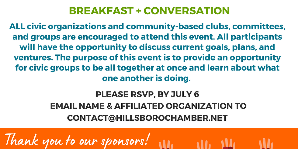 CORE Breakfast (Civic Organization Roundtable of Engagement)