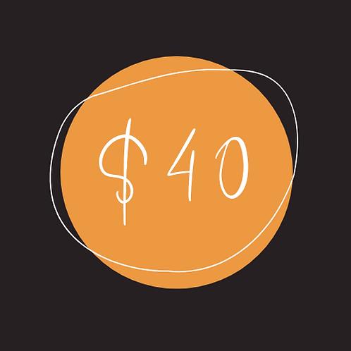 $40 Chamber Bucks