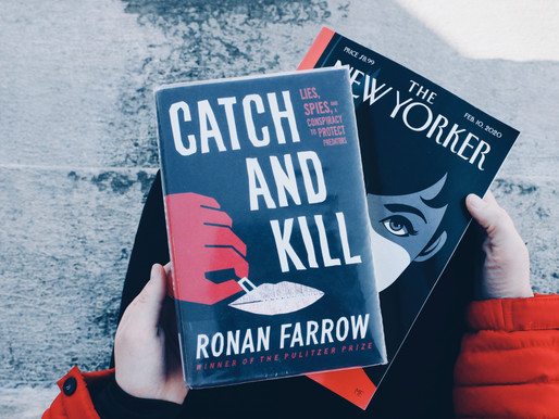 Catch and Kill by Ronan Farrow, a book review