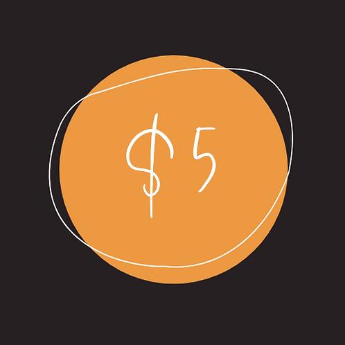 $5 Chamber Bucks