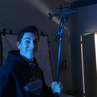 Adam ready on set