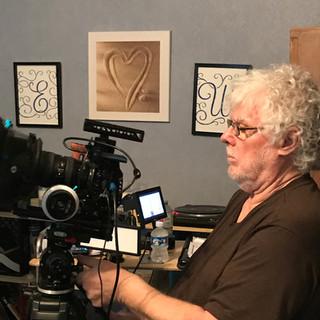 David O 'Keefe ready with the Camera