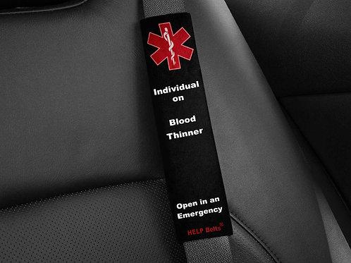 Blood Thinner Medical Alert Help Belts®
