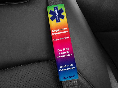 Angelman Syndrome Medical Alert Help Belts®