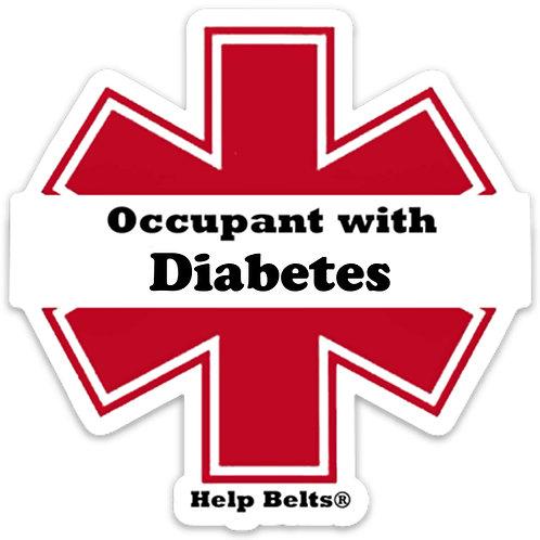 Diabetes Window Cling