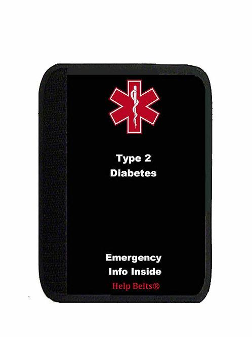 Type 2 Diabetes Padded Help Belts®