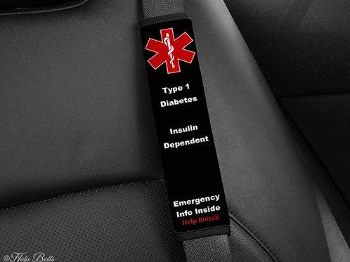 Type 1 Diabetes Padded Help Belts®