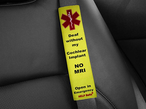 Deaf without Cochlear Help Belts®