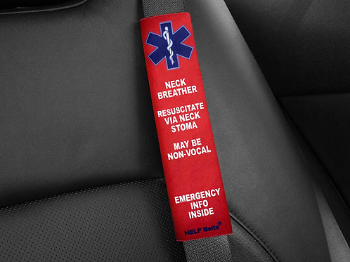Laryngectomees Medical Alert Help Belts®