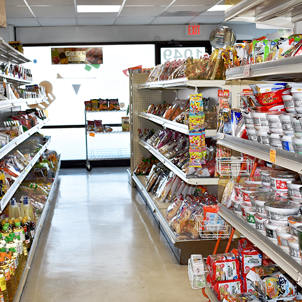 Dry food aisles