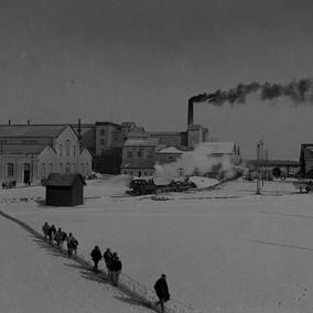 L'usine Solvay de Salin-de-Giraud