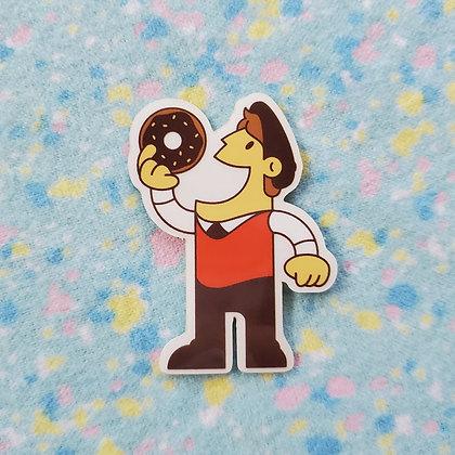 Logo Guy Sticker