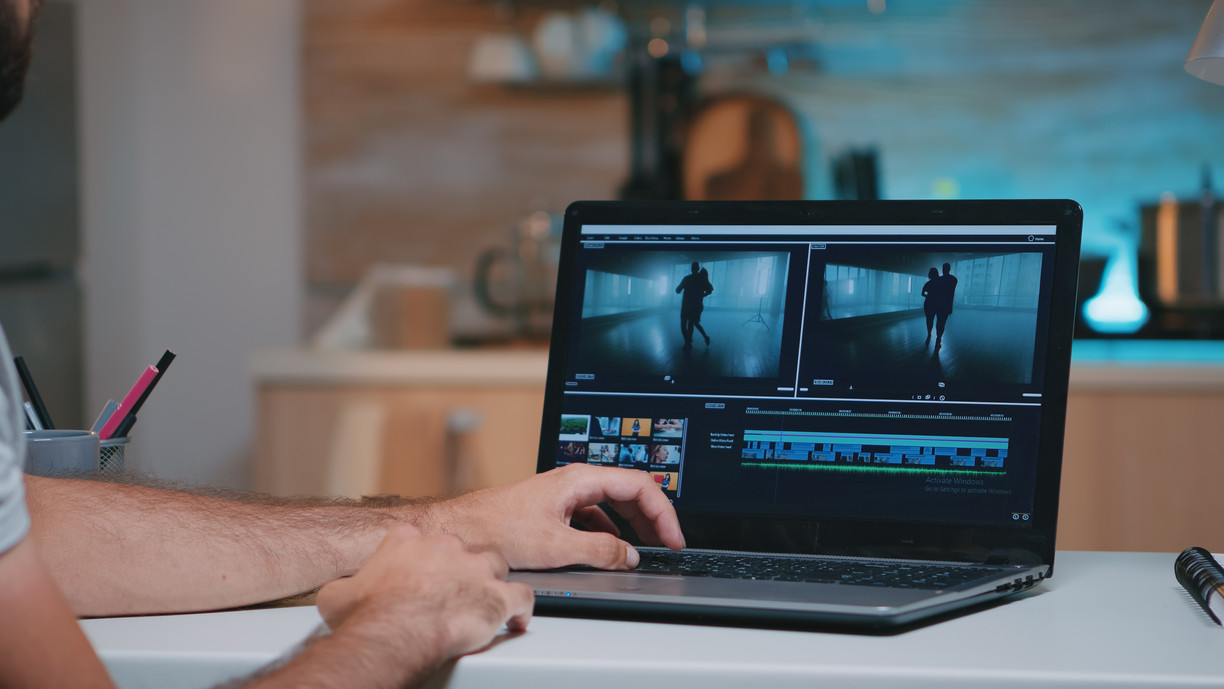 videographer-working-remotely-editing-vi