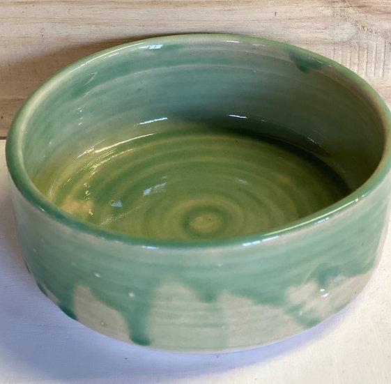 Green medium serving Bowl