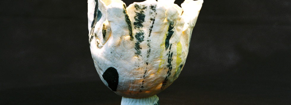 Porcelain pinch pot