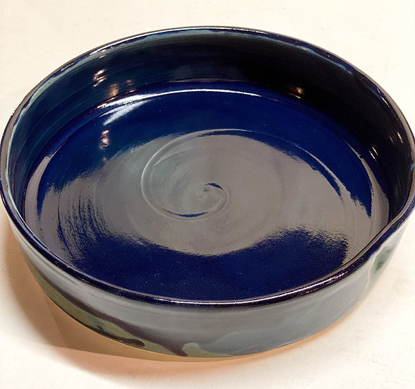 Midnight blue tray/ Serving dish