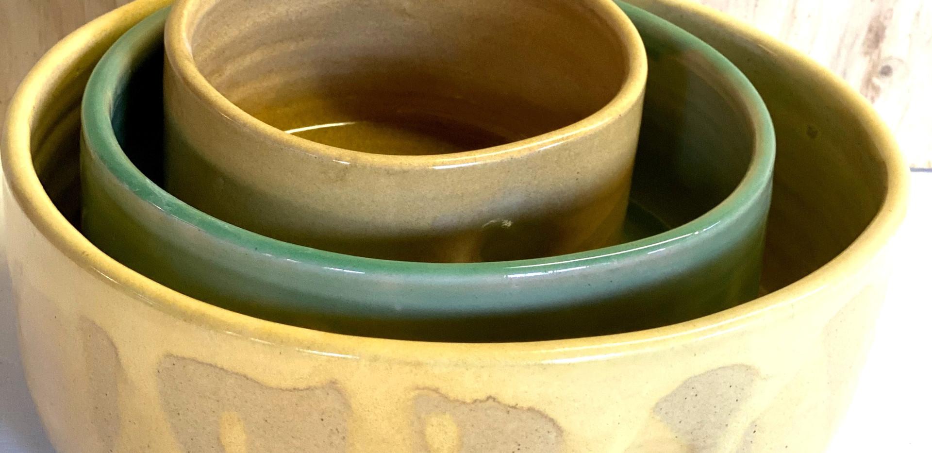 Nesting Bowls, set of 3