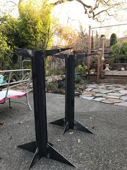 Welded Steel Table Legs