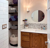 Fresh and Fun Bathroom Remodel