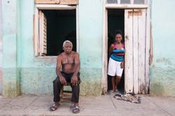 Trinidad Couple, Trinidad, Cuba_